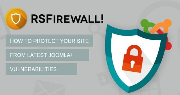 افزونه امنیتی و ضد اسپم RSFirewall