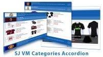ماژول آکاردئونی SJ Categories Accordion for Virtuemart