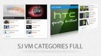 افزونه نمایش محصولات SJ Categories Full for Virtuemart