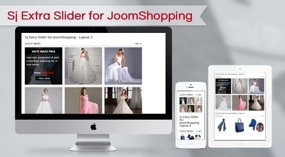 افزونه اسلایدشو SJ Extra Slider for JoomShopping
