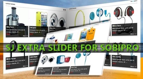 افزونه اسلایدر حرفه ای SJ Extra Slider for SobiPro