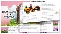 افزونه نمایش مطلب SJ Frontpage for SobiPro