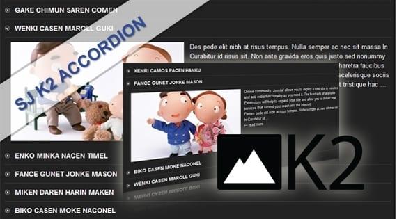 افزونه نمایش آکاردئونی SJ K2 Accordion