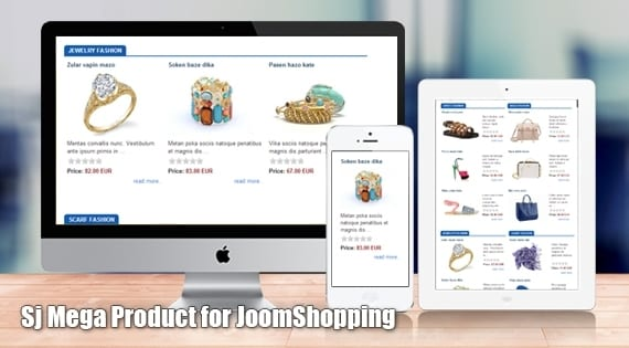 افزونه نمایش محصولات SJ Mega Product for JoomShopping