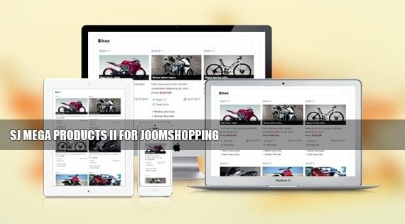 ماژول نمایش محصولات SJ Mega Products II for JoomShopping