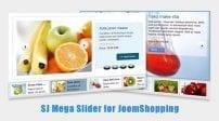 افزونه اسلایدر SJ Mega Slider for JoomShopping