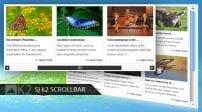 افزونه اسکرول مطالب SJ Scrollbar for K2