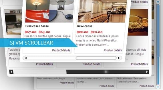 افزونه نمایش محصولات SJ Scrollbar for Virtuemart