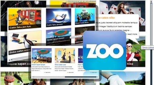 افزونه متحرک SJ Scrollbar for Zoo