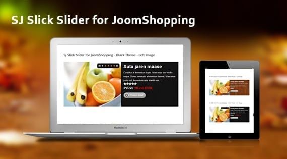 ماژول اسلایدر محصول SJ Slick Slider for JoomShopping