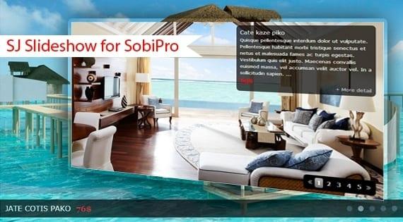 افزونه اسلایدشو تصاویر SJ Slideshow for SobiPro