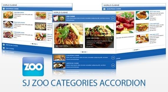 افزونه آکاردئونی SJ Zoo Categories Accordion
