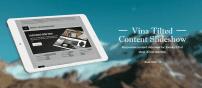 افزونه اسلایدشو Vina Tilted Content Slideshow