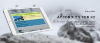 ماژول آکاردئونی مطالب Vina Item Accordion for K2