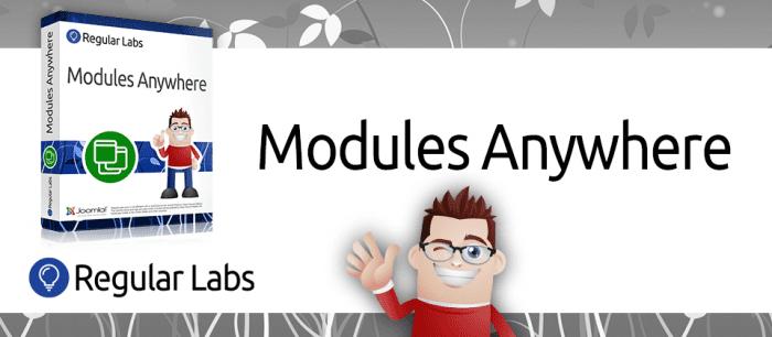 افزونه در هر کجا Modules Anywhere