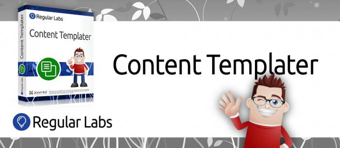 افزونه طراحی قالب Content Templater