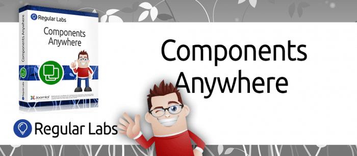 افزونه درج کامپوننت در هرکجا Components Anywhere