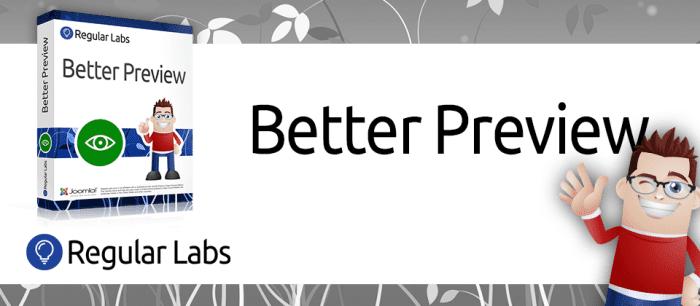افزونه پیشنمایش مطالب Better Preview