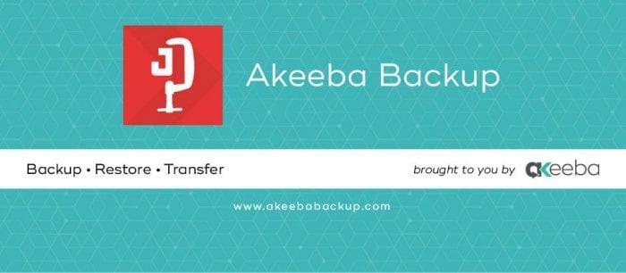 افزونه بکاپ پیری Akeeba Backup