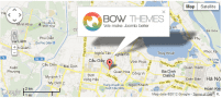 افزونه نقشه آنلاین گوگل BT Google Maps