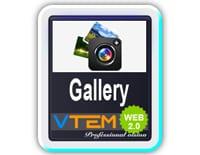 افزونه گالری تصاویر VTEM Gallery