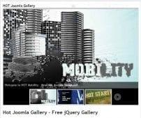 افزونه گالری تصاویر Hot Joomla Gallery
