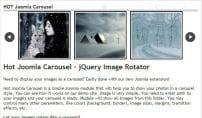 افزونه اسلایدر Hot Joomla Carousel