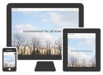 قالب شرکتی و طراحی Hot One Page
