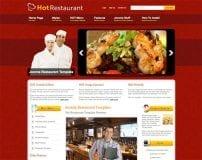 قالب رستوران Hot Restaurant