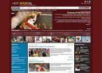 قالب ورزشی Hot Sportal