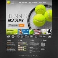 قالب ورزشی Hot Tennis