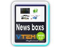 افزونه نمایش اخبار VTEM News Boxs