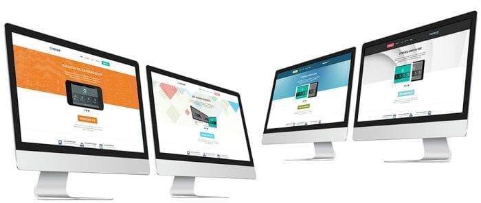 قالب نرم افزار و فناوری Hot App