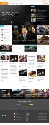 قالب خبری مدرن و خبرگزاری S5 Content King