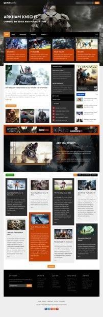 قالب بازی و مجله اینترنتی S5 Game World