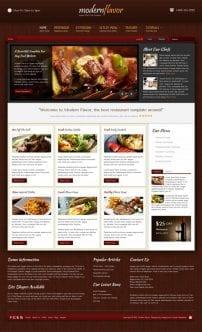 قالب رستوران و غذا S5 Modern Flavor
