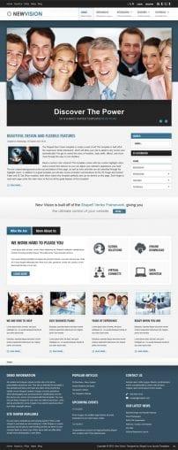 قالب سازمانی و شرکتی S5 New Vision