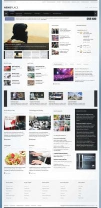 قالب پرتال خبری S5 Newsplace