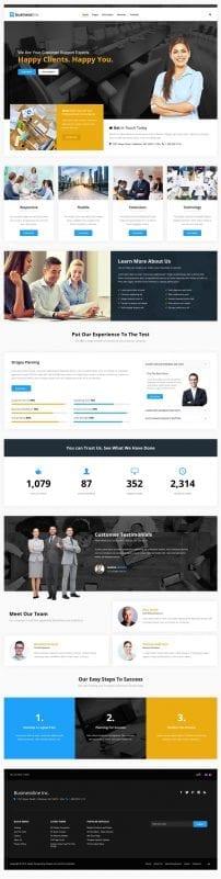 قالب طراحی وب و شرکتی S5 Business Line