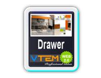 افزونه نمایش اخبار VTEM News Drawer