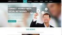 قالب شرکتی و طراحی وب BT Business