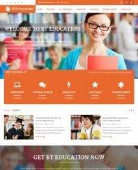 قالب آموزشگاه و مدرسه BT Education