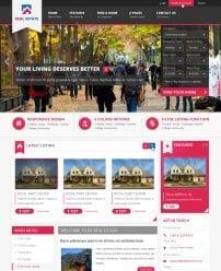 قالب مدیریت املاک BT Real Estate