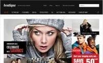 قالب فروشگاه اینترنتی پوشاک GK Boutique