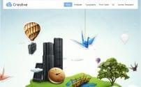 قالب طراحی وب و تجارت الترونیک GK Creative