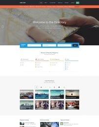 قالب دایرکتوری آگهی و تبلیغات JA Directory