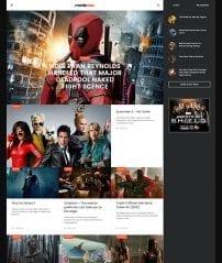 قالب مجله فیلم و سریال JA Moviemax
