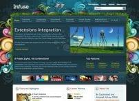 قالب تجاری و بلاگ شخصی RT Infuse