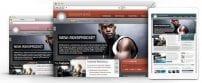 قالب مجله ورزشی و بدنسازی RT Ionosphere