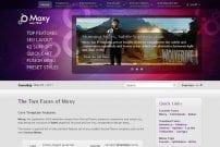 قالب شرکت نرم افزاری RT Moxy
